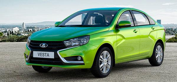 Седан Lada Vesta получит 13 модификаций