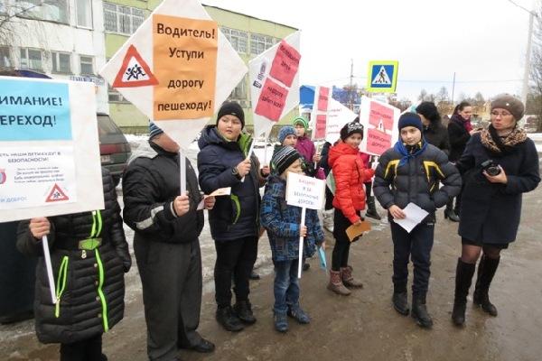 В Смоленской области устроили акцию «Я за безопасные дороги»