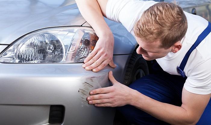 Точечный косметический ремонт пластиковых частей автомобиля