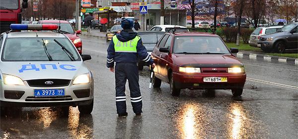 В правительстве предложило лишать водительских прав за три нарушения