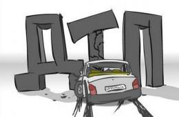 В Смоленске на Кутузова две «Калины» попали в ДТП. Двое пострадавших
