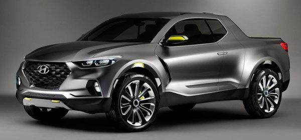 Концепт пикапа Hyundai Santa Cruz получит серийную версию