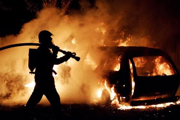 В Смоленской области загорелась «Мазда»