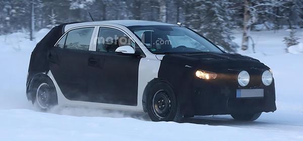 Новое поколение Kia Rio впервые замечено на тестах