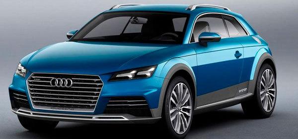 Audi выпустит электрический кроссовер в 2018 году
