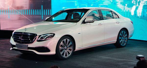 Mercedes представил новое поколение E-Class