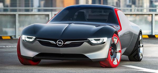 Opel показал концептуальное купе GT
