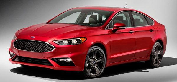 Обновленный Ford Fusion получил 325-сильный мотор