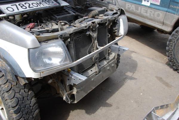 Собственноручный ремонт бампера автомобиля