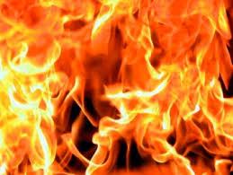 В городе Гагарине Смоленской области загорелась «пятёрка»
