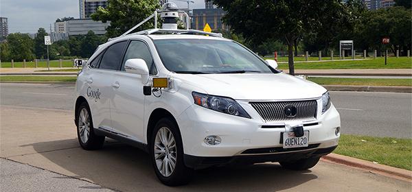 Автомобили Google испытают в дождливых условиях