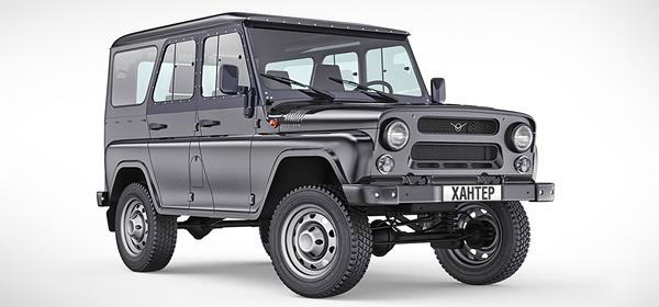 УАЗ возобновит производство внедорожников Hunter