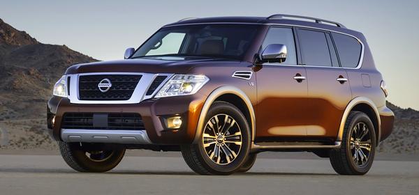 Nissan представил внедорожник Armada