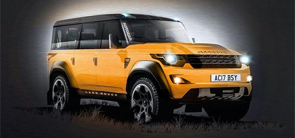 Новый Land Rover Defender выпустят в 2019 году