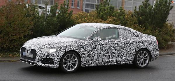 Audi выпустит новое поколение купе A5 в 2017 году