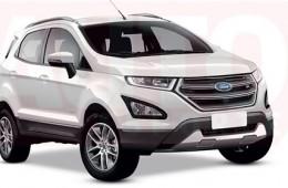 Ford обновит кроссовер EcoSport в 2017 году
