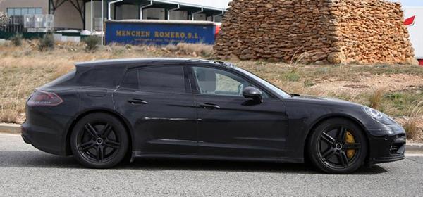 Porsche вывела на тесты новый универсал Panamera