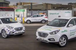 Hyundai представит новый водородный кроссовер в 2017 году