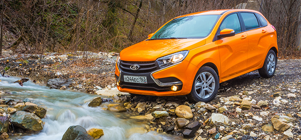 АвтоВАЗ начал продажи хэтчбека Lada XRAY с 1,8-литровым двигателем