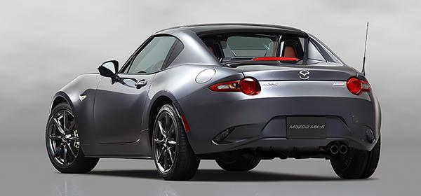 Родстер Mazda MX-5 получил жесткий складной верх