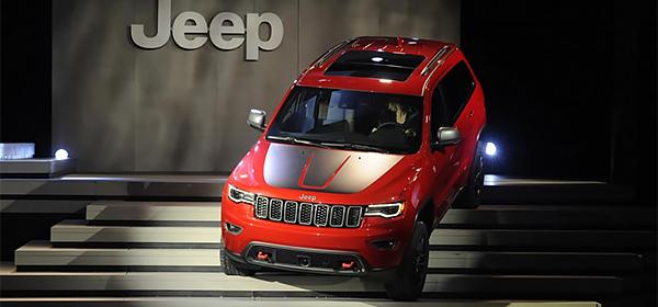 Jeep Grand Cherokee подготовили для тяжелого бездорожья