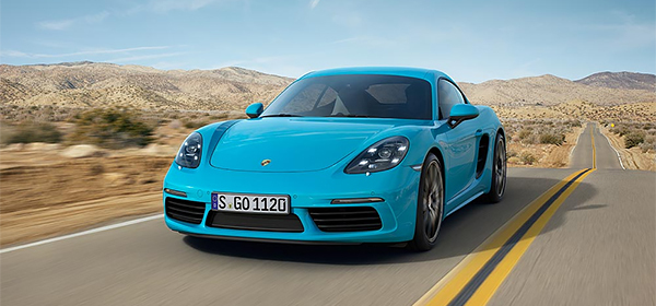Porsche назвал российские цены на новое купе 718 Cayman