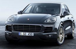 Porsche представила спецверсию Cayenne