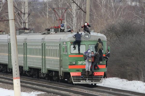 В Смоленской области железнодорожники борются с «зацепингом»