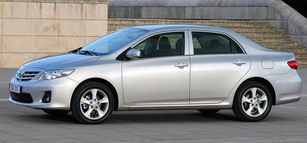 Toyota Corolla стала самой популярной иномаркой в России