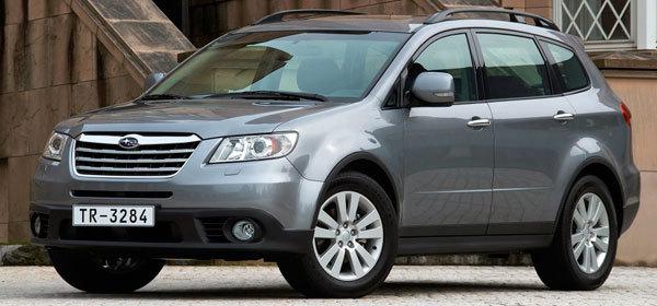 Subaru отзовет в России 4,5 тысячи автомобилей Tribeca