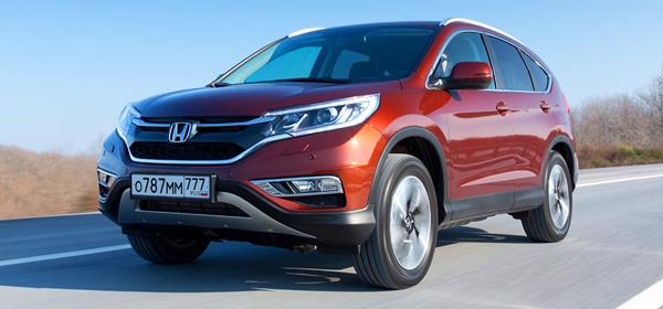 Honda отзывает кроссоверы CR-V в России