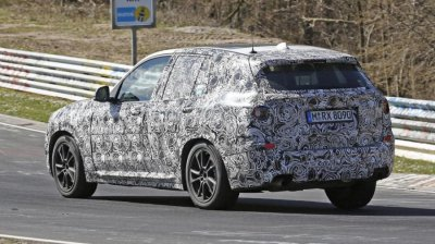 BMW испытала новое поколение кроссовера X3 на Нюрбургринге