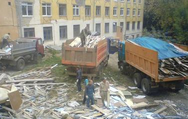 Вывоз строймусора в Киеве это рутинное и кропотливое дело