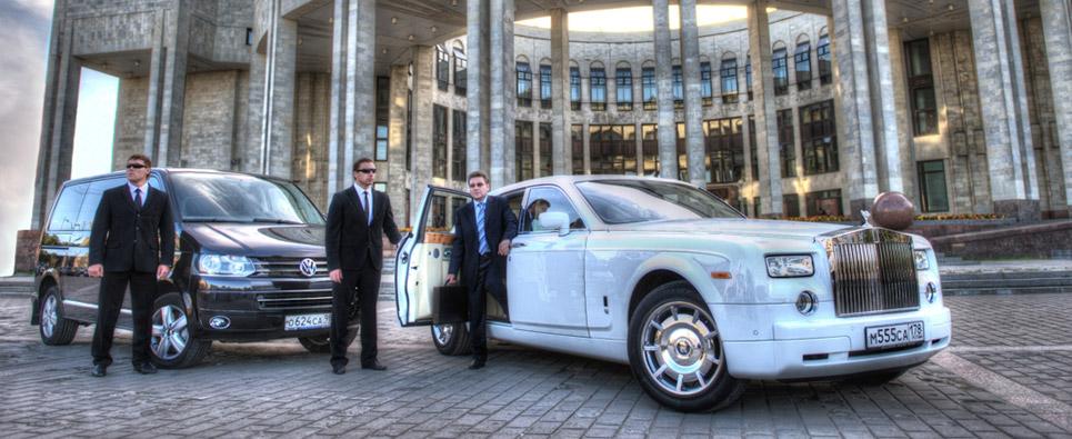 Аренда элитного автомобиля с водителем