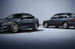 BMW представила юбилейную версию M3