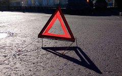 В Смоленской области пешеход устроил ДТП, попал под мотоцикл и убежал