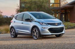 Chevrolet Bolt с автопилотом впервые замечен на тестах