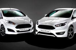 Ford представил спортивные версии Focus и Fiesta