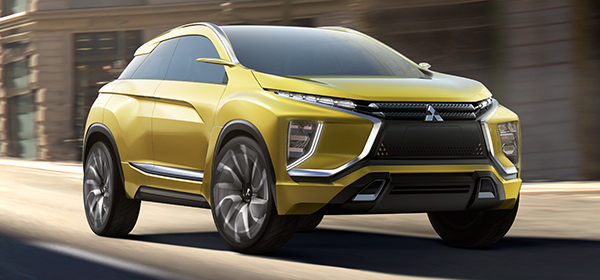 Mitsubishi представит серийный электрический кроссовер в 2020 году