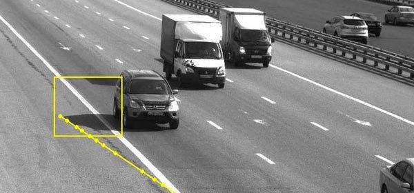 В Москве водителя оштрафовали за тень от автомобиля