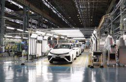 Toyota останавливает производство автомобилей в Японии из-за тайфуна