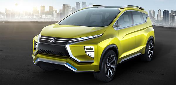 Mitsubishi представила концепт семиместного кроссовера
