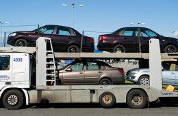 Экспорт автомобилей из России упал на 32%
