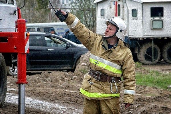 В Смоленске сгорел склад машинных деталей