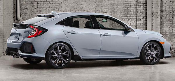 Honda рассекретила дизайн хэтчбека Civic