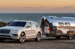 Автомобили Bentley впервые получат фаркоп