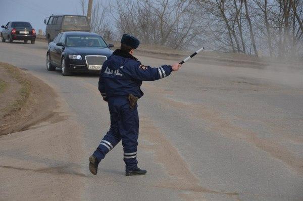 В Смоленске на Петра Алексеева задержали пьяного водителя