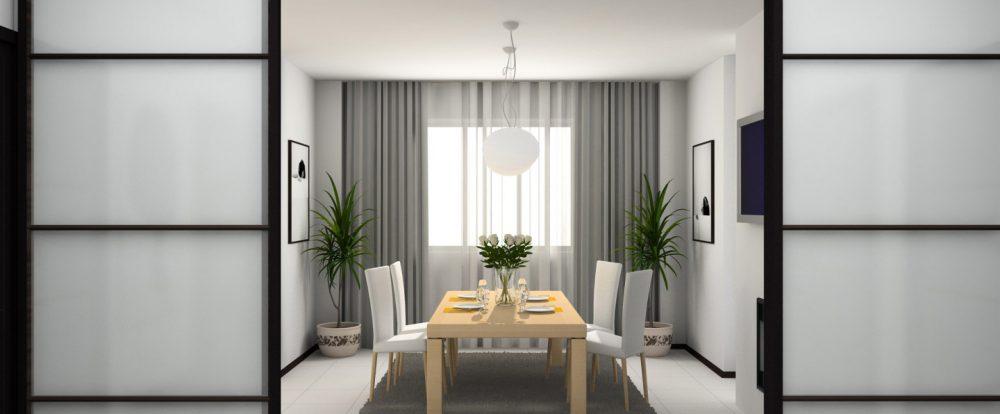 Раздвижные двери: удобно и практично