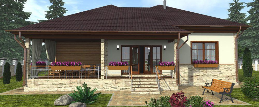 Строительство каркасного дома. Приобретение проекта