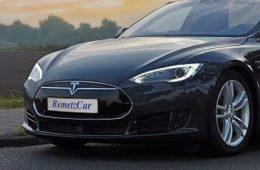 Седан Tesla Model S превратили в катафалк